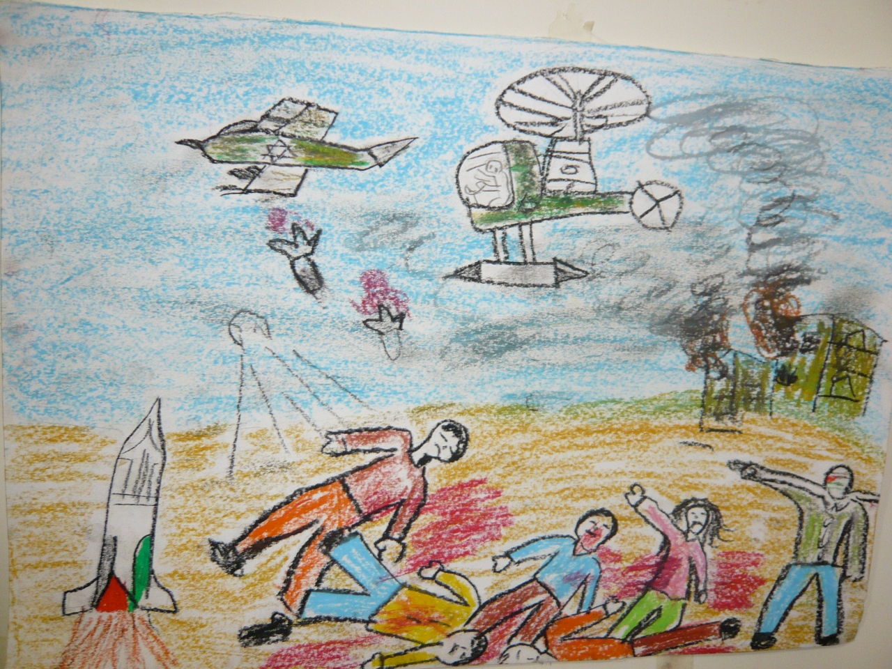 Image result for childrens drawings of murders in Central America by death squads